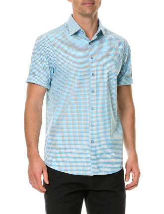 Frasertown Short Sleeve Shirt Ocean