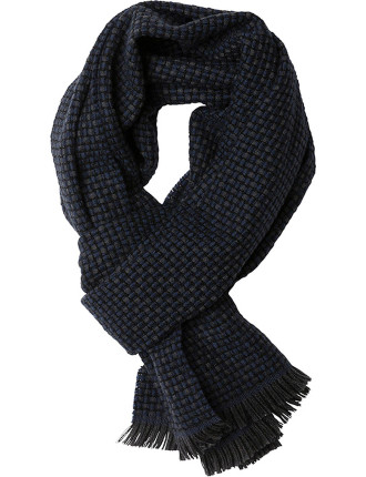 ZQ0165 SOLDIERS ROAD SCARF/DUSK