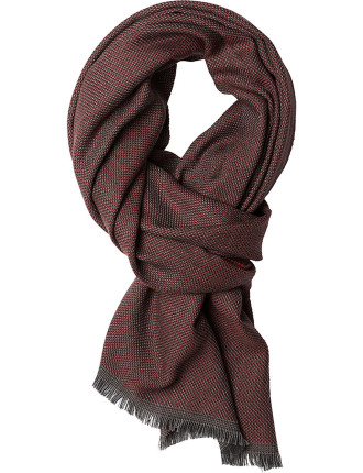 ZQ0169 LAING LANE SCARF/BERRY
