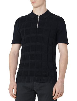 Solo Textured Polo Shirt