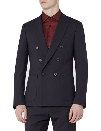 Barca B Double-Breasted Blazer