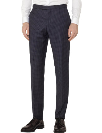 Marvel T Checked Wool Trousers