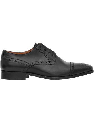 Ferra Leather Semi Brogues