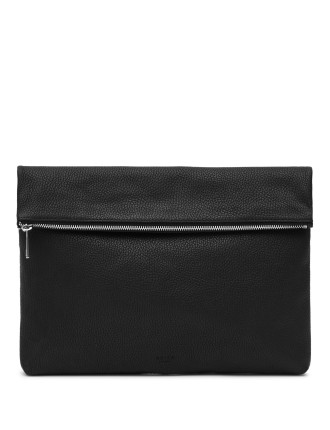 Piston Foldover Leather Pouch
