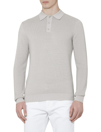 Brion Textured  Polo Shirt