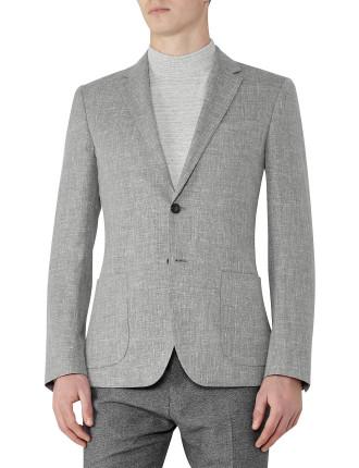 Tate B Wool And Linen Blazer
