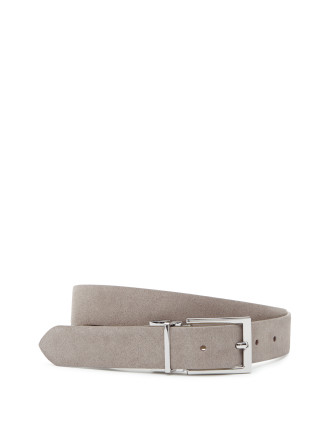 Whit Reversible Suede Belt