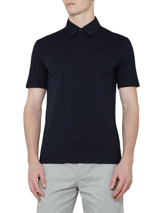 Wilkins Patch Pocket Polo Shirt