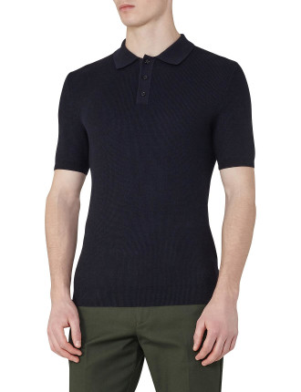 Hamish Textured Polo Shirt