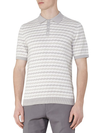 Monaco Stripe Polo Shirt