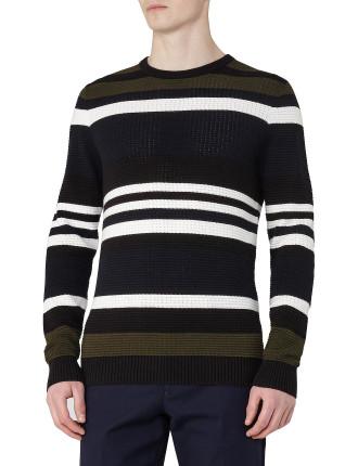 Ketlett Textured Stripe Jumper