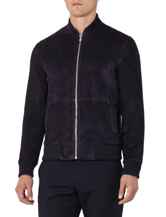 Sussex-Zip Suede Jacket