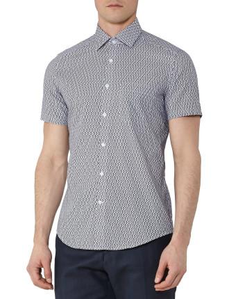 Capri-Ss Geo Print Shirt