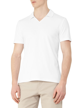 Charles-Ribbed Open Colla