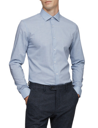 Tapper-Melange Shirt