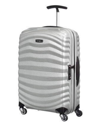 Lite Shock 55cm Spinner Black Suitcase