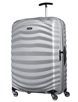 Lite Shock 75cm Spinner Petrol Blue Suitcase