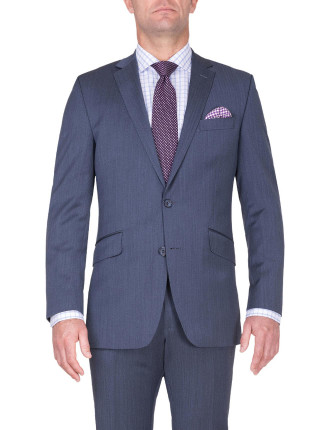 BONDI SUIT | BLUE HERRINGBONE