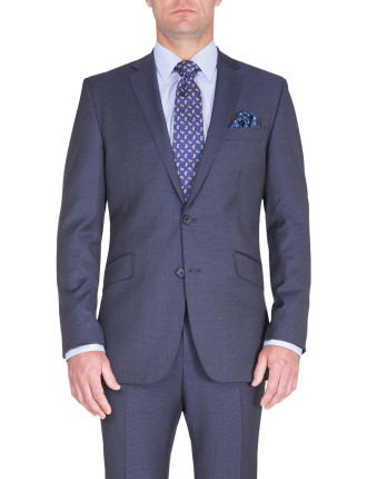BONDI SUIT | NAVY MICRODESIGN