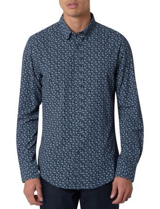 Vincent Slim Fit Print Shirt