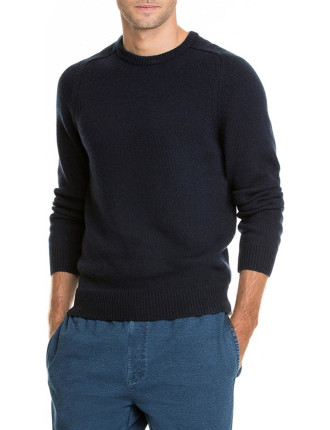 Casual Crew Neck Knit