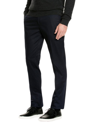 Black Stretch Twill Pant