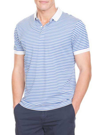 Cool Mint Stripe Polo
