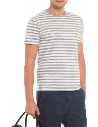 Melange Stripe T-Shirt