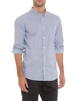Zig Zag Print Shirt