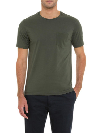 Texture Pocket T-Shirt