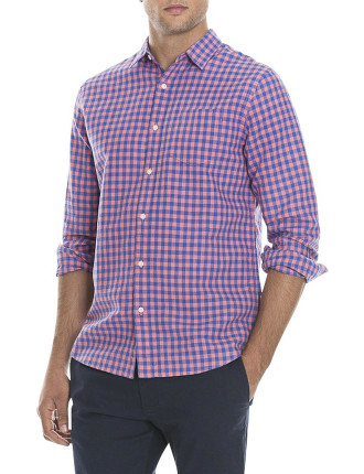 Tone On Tone Gingham Shirt