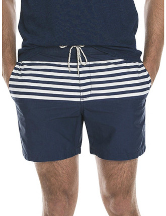 Stripe Panel Swim Short