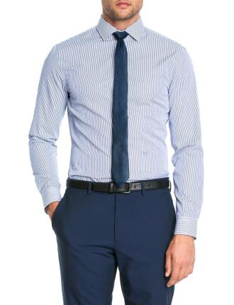 Raised Textured Stripe Shirt