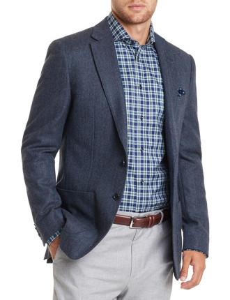 Regular Herringbone Tweed Jacket