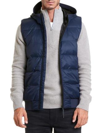 Hooded Nylon Vest