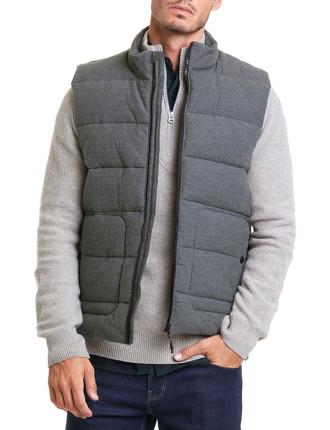 Textured Channelled Vest
