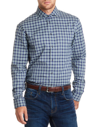 Long Sleeve Regular Gingham Check Shirt