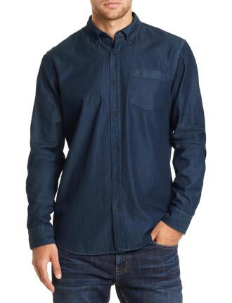 Long Sleeve Regular Denim Shirt