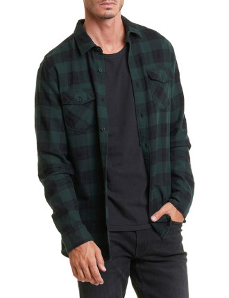 Long Sleeve Slim Buffalo Shirt