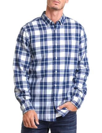 Long Sleeve Regular Oxford Check Shirt