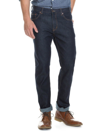 Slim Rich Raw Jean