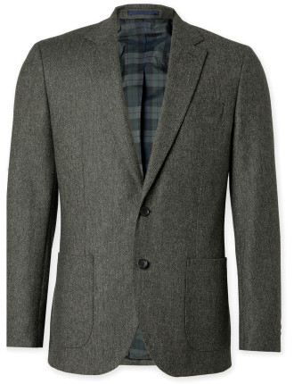 Slim Tweed Blazer