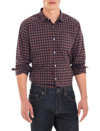 Slub Gingham Shirt