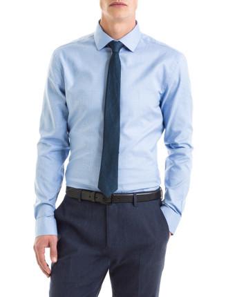Slim Micro Grid Shirt