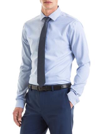 Slim Oxford Stripe Trave Shirt