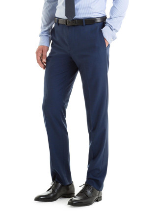 Modern Tailored Fit Diamond Structured Pant