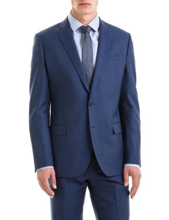 Modern Tailored Fit Diamond Strctured Jacket