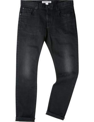 Slim Washed Black Jean