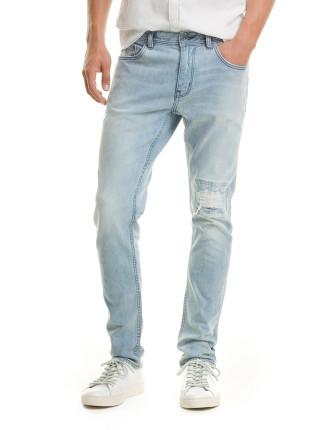 Slim Tapered Rip Jean