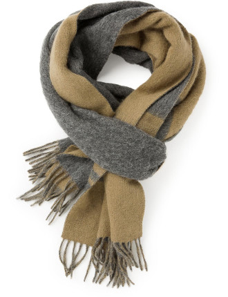 Brushed Wool Scarf